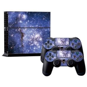 Starry Sky patroon Stickers voor PS4 Game Console