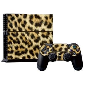 luipaard patroon Stickers voor PS4 Game Console
