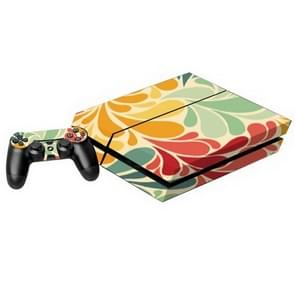 Kleurrijk Leaves patroon Stickers voor PS4 Game Console