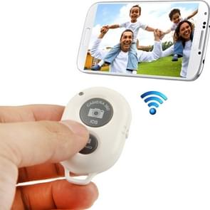 BRCMCOM Chip Universal Bluetooth 3.0 Remote Shutter Camera Control Self-timer, For iPhone, Galaxy, Huawei, Xiaomi, Lenovo, Sony, LG, HTC and Other Smartphones(White)