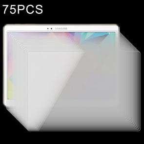 75 PCS 0.4mm 9H+ Surface Hardness 2.5D Explosion-proof Tempered Glass Film for Galaxy Tab S 10.5 / T800