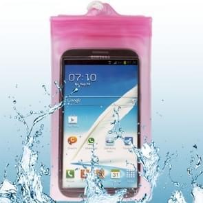 Waterdichte tas voor Galaxy Note II / N7100 (roze)