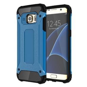 Voor Samsung Galaxy S7 Edge / G935 hard Armor TPU + PC combinatie hoesje (blauw)