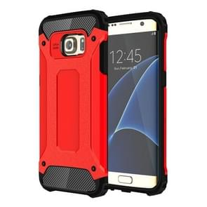 For Galaxy S7 Edge / G935 Tough Armor TPU + PC Combination Case (Red)