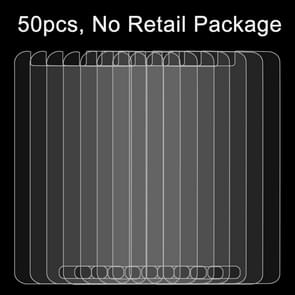 50 PCS for Galaxy J1 Ace / J110 0.26mm 9H Surface Hardness 2.5D Explosion-proof Tempered Glass Film, No Retail Package