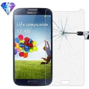 LOPURS Silver Diamond 0.26mm 9H+ Surface Hardness 2.5D Explosion-proof Tempered Glass Film for Galaxy S4 / i9500
