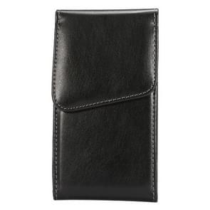 5.2 Inch universeel Lambskin structuur Vertical Flip lederen hoesje / Waist Bag met Rotatable Back Splint voor Samsung Galaxy S6 / G920 & S5 / G900 & S4 / i9500 & Grand DUOS / I9082