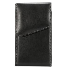 5.5 inch universele Lambskin textuur verticaal flip leerhoes / taille tas met draaibare rug Splint voor Galaxy Note III / N9000 & opmerking II / N7100 & Opmerking / I9220