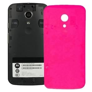 Battery Back Cover for Motorola Moto G (2nd Gen) XT1063 / XT1068 / XT1069(Magenta)