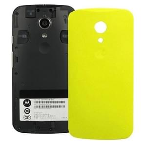 Battery Back Cover for Motorola Moto G (2nd Gen) XT1063 / XT1068 / XT1069(Yellow)