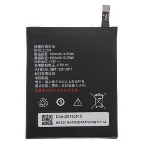 BL234 Oplaadbare Li-Polymer batterij voor Lenovo P70 / P70t