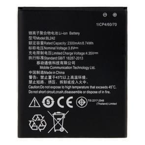 BL242 2300mAh oplaadbare Li-ion batterij voor Lenovo citroen K3
