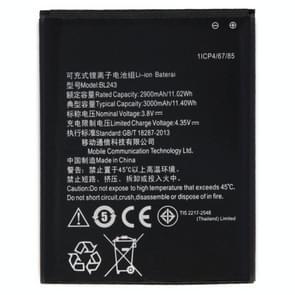 BL243 2900mAh oplaadbare Li-ion batterij voor Lenovo citroen K3 notitie