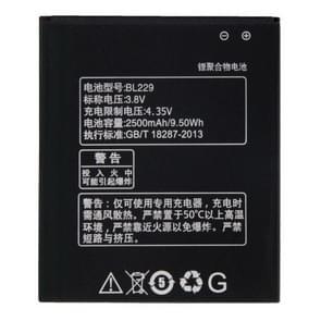 BL229 2500mAh oplaadbare Li-Polymer batterij voor Lenovo Golden Warrior A8
