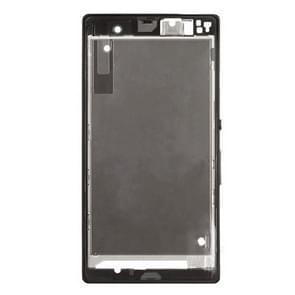 Voorzijde huisvesting LCD Frame Bezel plaat vervanger voor Sony Xperia Z / L36h / C6602 / C6603(Black)