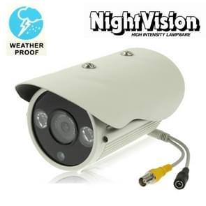 1 / 3 SONY 650TVL 8mm Lens Array IR & Waterproof Color Dome CCD Video Camera, IR Distance: 50m (Size: 210(L) x 100(W) x 85(H) mm)