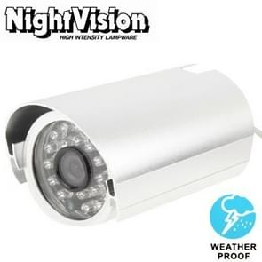 3.6mm Lens CMOS IR & Waterproof Color CCD Video Camera, IR Distance: 50m