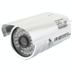 CMOS 420TVL 6mm lens metaal materiaal kleur infrarood camera met 36 LED  IR afstand: 20m