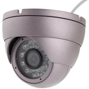 1/3 SONY CCD, 650TVL Color IR Dome CCD Camera, IR Distance: 18m