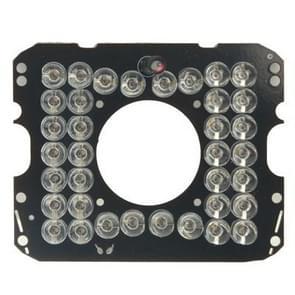 36 LED-infrarood lamp bord voor CCD-camera  infrarood hoek: 60 graden (1008-36)