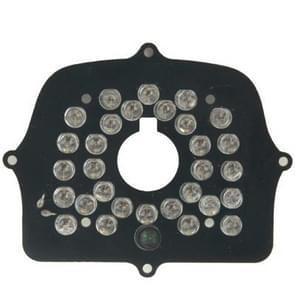 30 LED-infrarood lamp bord voor CCD-camera  infrarood hoek: 60 graden (2006-30B)