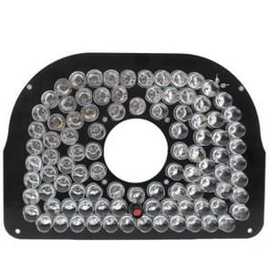 96 LED 8mm infraroodlamp Board voor CCD Camera  infrarood hoek: 60 graden