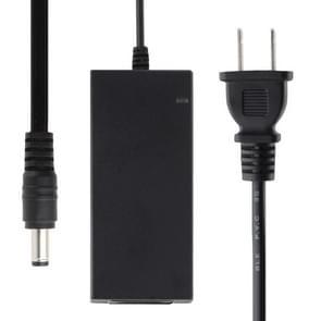 US plug 12V 5A/16-kanaals DVR AC-lichtnet adapter, uitgang tips: 5,5 x 2.5 mm