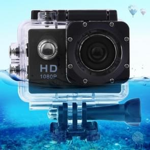 SJ4000 Full HD 1080P 2 0 inch LCD Sports Camcorder DV met waterproof case  Generalplus 6624  30m Depth Waterproof(Zwart)