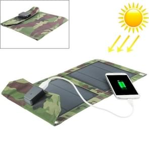 5W draagbare Folding zonnepaneel / Solar Lader Bag voor tabletten / mobiele telefoons