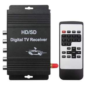 High Speed ISDB-T Mobile Digital Car TV Receiver, Suit for Brazil / Peru / Chile etc. South America Market(Black)