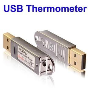 USB Thermometer / Embedded Digital PC Sensor, Temperature Range: -67 Degrees Fahrenheit to 257 Degrees Fahrenheit