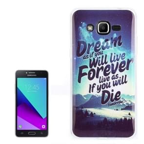 For Galaxy J2 Prime / G532 Dream Snow Pattern TPU Back Case