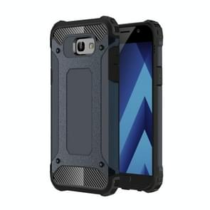 For Galaxy A5 (2017) / A520 Tough Armor TPU + PC Combination Case (Dark Blue)