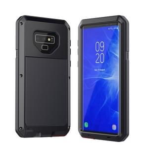 Metal Shockproof Waterproof Protective Case for Galaxy Note 9 (Black)