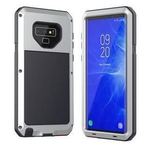 Metalen schokbestendig dagelijks waterdichte beschermende case voor Galaxy Note 9 (zilver)