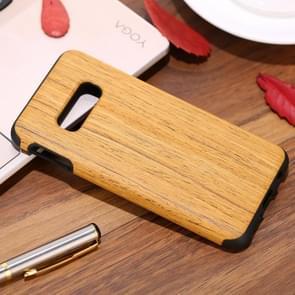 Schokbestendige TPU + hout beschermhoes voor Galaxy S10 E