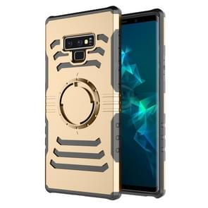 Sharp Sword Pattern Case for Galaxy Note9 with Armlet(Gold)