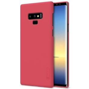 NILLKIN Frosted Concave-convex Texture PC Case for Galaxy Note 9(Red)