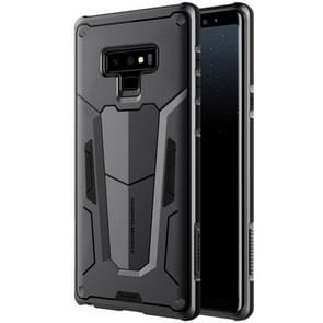 NILLKIN Tough Defener II Case Shockproof TPU + PC Case for Galaxy Note 9(Black)