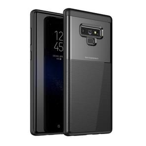 PC + TPU Invisible Airbag Shockproof Protective Case For Galaxy Note9(Black)