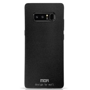 MOFI for Galaxy Note 8 TPU Silicone Soft Forsted Back Protective Case Cover (Black)
