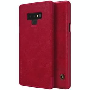 NILLKIN Crazy Horse Texture Horizontal Flip Leather Case for Galaxy Note 9, with Card Slot(Red)