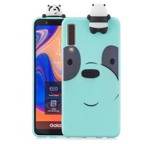 3D Paster Big Eye Bear Pattern TPU Protective Case for Galaxy A7 (2018)