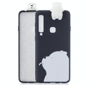 3D Paster Naughty Bear Pattern TPU Protective Case for Galaxy A9 (2018) / A9s