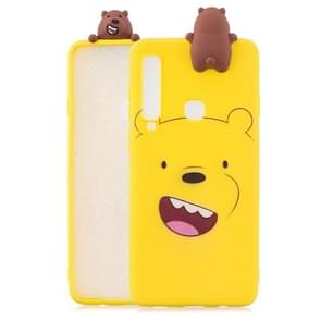 3D Paster Happy Bear Pattern TPU Protective Case for Galaxy A9 (2018) / A9s