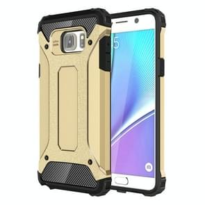 For Galaxy Note 5 / N920 Tough Armor TPU + PC Combination Case(Gold)
