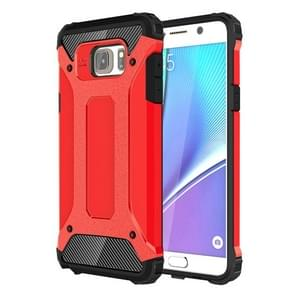 For Galaxy Note 5 / N920 Tough Armor TPU + PC Combination Case(Red)