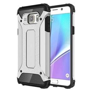 For Galaxy Note 5 / N920 Tough Armor TPU + PC Combination Case(Silver)