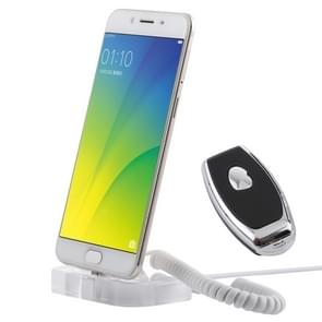 Universal Mobile Phone Burglar Display Holder / Anti-theft Display Stand, with Remote Controller(Transparent)