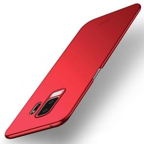 MOFI ultra-dunne Frosted PC Case voor Galaxy S9 PLUS (rood)